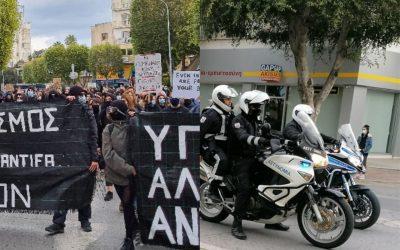 Τελείωσε η διαδήλωση όχι όμως και το έργο της Αστυνομίας – Θα αξιοποιηθούν τα βίντεο για εξώδικα